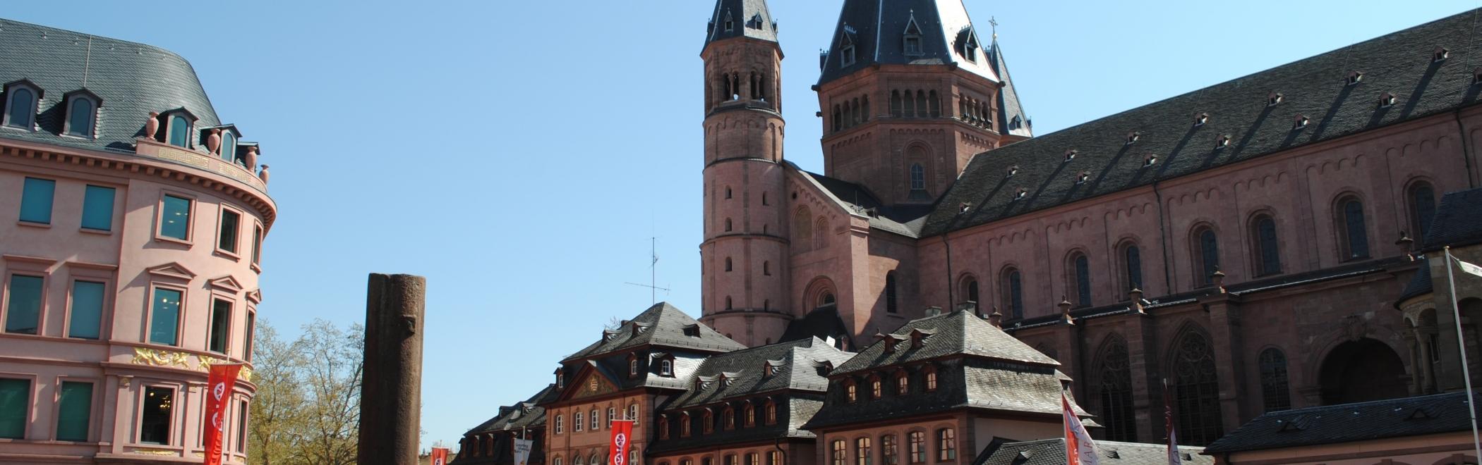 Rhein Dom Marktplatz